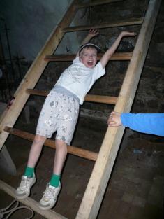 Spaní na hradě - červen 2008