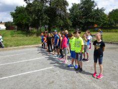 Atletické závody v Březině 2018