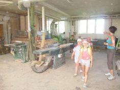 Návštěva zemědělského družstva Bukovina