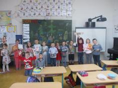 Vánoční škola v 1. ročníku