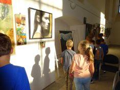 Výstava obrazů Vyškov 2018 4. a 5. r.