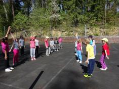 Vycházkové a sportovní pátky v družině jaro 2018