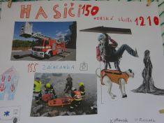 Hasiči - kreslíme v družině a VV . 4. a 5. ročník