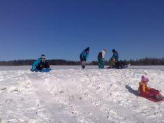 Konečně sníh! - družina