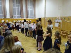 Besídka školy a výstava výrobků RK 1. - 5. roč. a VV 4. - 5. ročníku